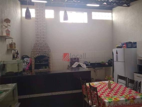 Casa Com 2 Dormitórios À Venda, 100 M² Por R$ 195.000 - Parque Da Liberdade - São José Do Rio Preto/sp - Ca2205