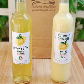Limoncello - Licor Tipo Italiano De Limão Siciliano