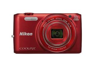 Nikon Coolpix S680016mp Wifi Cmos Cámara Digital Con 12x