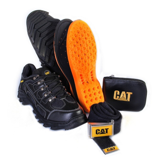 Tenis Coturno Adventure Tenis Trekking Couro Caterpillar