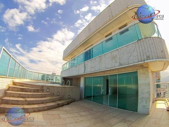 Cobertura Duplex À Venda, Campo Da Aviação, Praia Grande. - Co0011