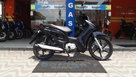 Honda Biz 125 Ex 2011 Azul Impecável
