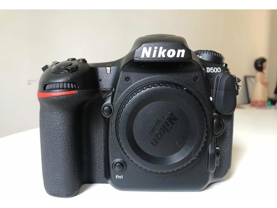 Nikon D500 + Vertical Grip + Disparador Remoto