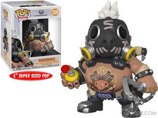 Funko Pop - Overwatch - Roadhog - Winston - Marvel - Sombra