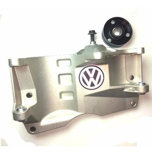 Suporte Do Compressor/bomba Direção Com Rolamento Gol G3 G4