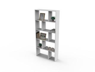 Biblioteca Cubo Melamina Repisa Diseño 006-cubo -401