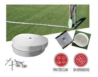 Cinta X 50 M Linea Demarcacion Cancha Futbol Rugby + Clavos