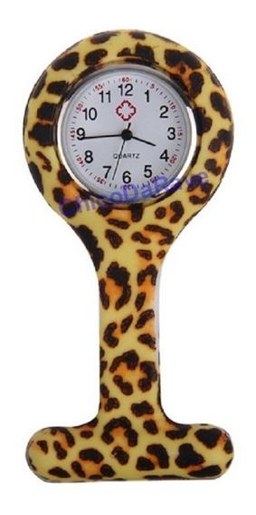 Relógio De Bolso Lapela Jaleco Oncinha Médico Enfermagem