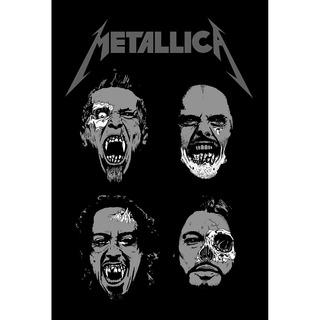 Placa - Quadro - Decorativo - Metallica - (v243)
