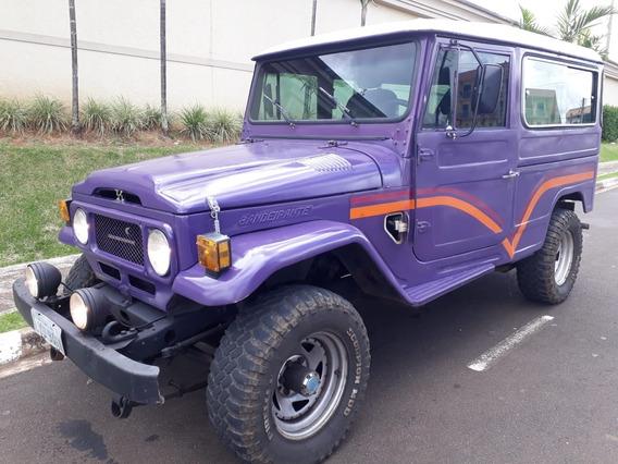 Toyota Bandeirante Jeep 4x4 Off-road Dh Perua Tração