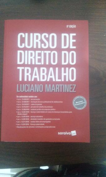 Curso De Direito Do Trabalho Luciano Martinez