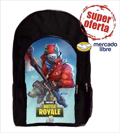 Mochila Chica De Fortnite Reforzada Fnaf Bendy Roblox +++