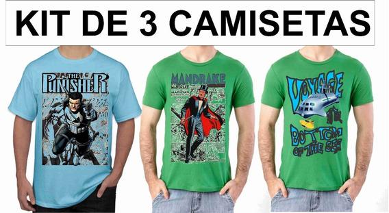 Camisas Camisetas, Gibi Quadrinhos Sériados