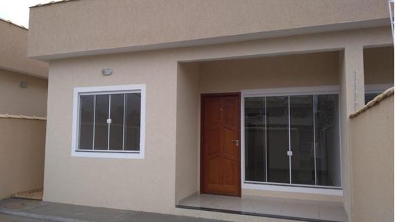 Casa Nova Linear Com 02 Quartos ( 01 Suíte ) Rio Das Ostras
