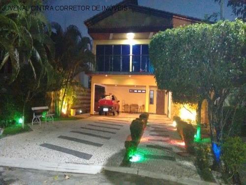Vendo Casa No Condomínio Parque Costa Verde, 6/4 , Sendo 5 Suítes, 650m², R$ 2.300.000,00 Financia!!! - J785 - 34720759