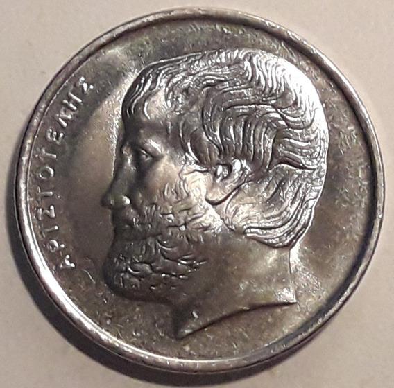 Grecia Moneda Del Año 2000 - Aristóteles - Sin Circular