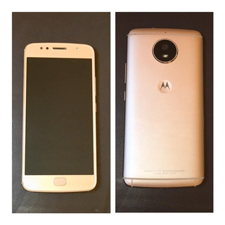 Celular Moto G5s, Ouro, Modelo Xt1792