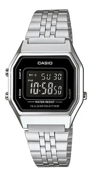 Relógio Casio Vintage Digital Prata/preto