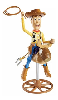 Woody Toy Story Vaquero De Rodeo Toro Montado 100% Original