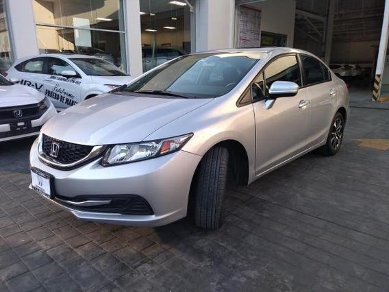 Honda Civic 4p Exl Sedan Ta Qc Piel Gps Ra-16