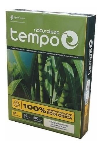 Resmas Tempo Naturaleza A4 80 Gr. (10 Unidades)