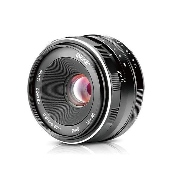Lente Meike 35mm F1.7 Para Câmera Sony E-mount Alpha Nex