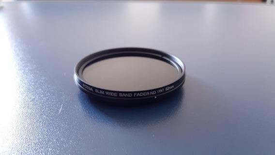 Filtro Fotga 52mm Fader Nd Variável Nd2 Até Nd400