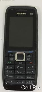 Nokia E51 - Só Funciona Tim, 2mp, Wi-fi - Usado