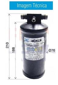 Filtro Secador Maquina Massey Ferguson 7140 / Terex / Kalm *