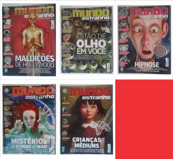 Lote Revista Mundo Estranho
