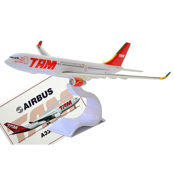 Maquete - Airbus A330 Tam Old Colors