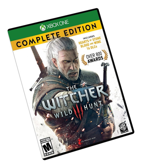 The Witcher 3 Complete Edition Xbox One Midia Digital + Brinde