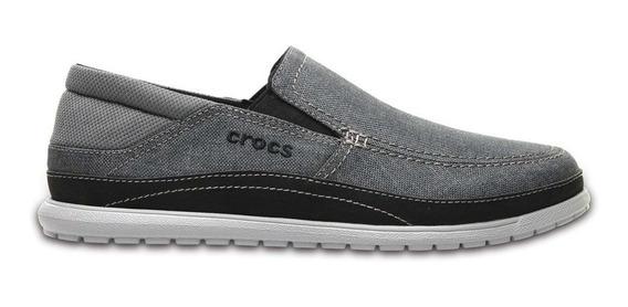 Zapatos Crocs Santa Cruz Playa Graphite Envío A Todo El País