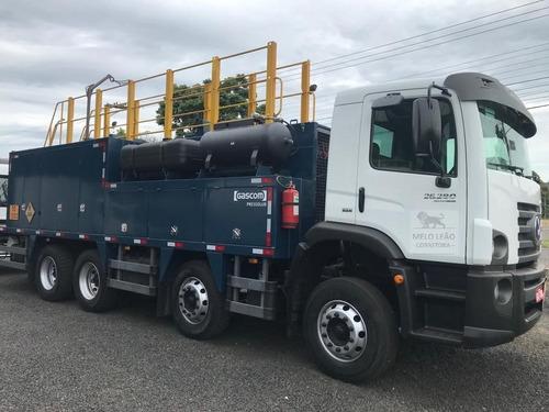 Vw 26-280 6x4 Ano 2014 / Comboio Gascom  2019 - Completo