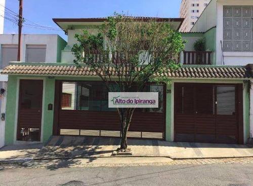 Sobrado Com 3 Dormitórios À Venda, 300 M² Por R$ 2.550.000,00 - Mirandópolis - São Paulo/sp - So0636
