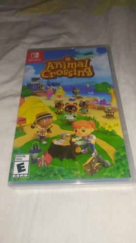 Animal Crossing Sellado Y Nuevo Nintendo Switch Juego