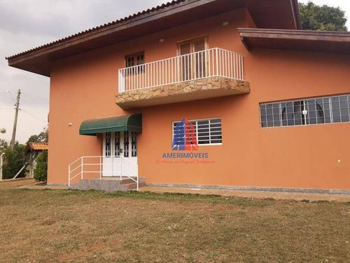 Imagem 1 de 30 de Sobrado Com 3 Dormitórios Para Alugar, 240 M² Por R$ 4.500,00/mês - Portal Dos Nobres - Americana/sp - So0233