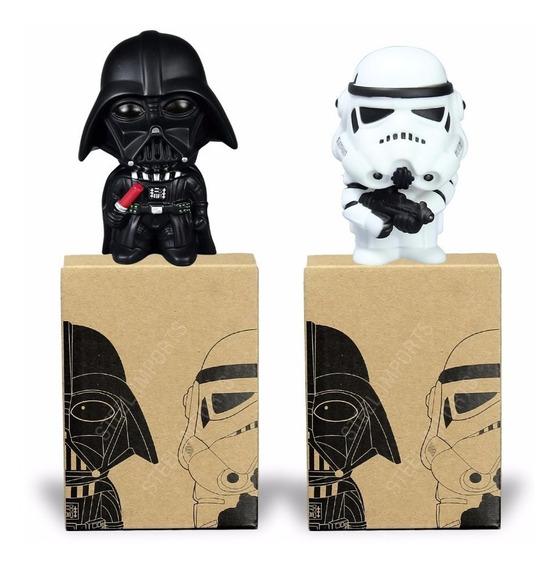 Kit Bonecos Darth Vader E Stormtrooper Star Wars