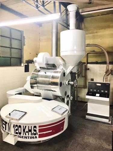 Máquina Tostadora De Café Industrial Brunet M120k-h.s.