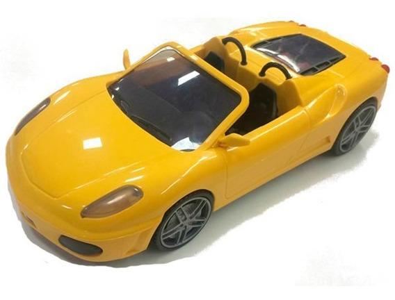 Carro Esportivo De Brinquedo Fast Car 6080 Amarelo