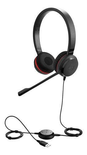 Imagen 1 de 8 de Headset Jabra Evolve 30 Ii Duo (ds)