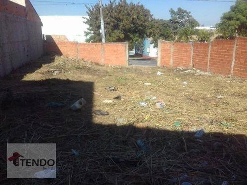 Imagem 1 de 15 de Imob02 - Terreno À Venda, 283 M² Por R$ 250.000 - Jardim Morada Do Sol - Indaiatuba/sp - Te0348