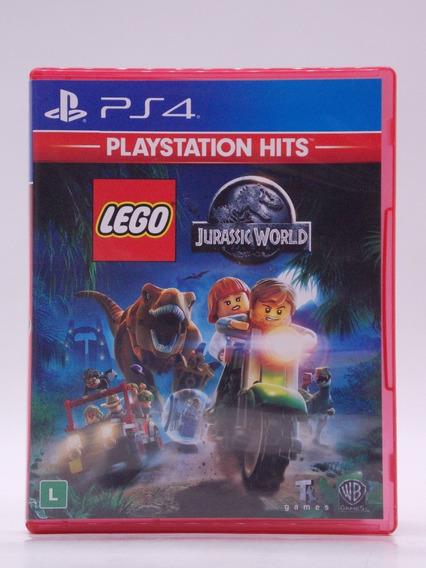 Lego Jurassic World Play Station 4 Original Mídia Física