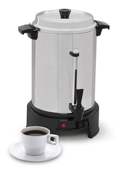 Cafetera Percoladora De 55 Tazas Aluminio West Bend 13500