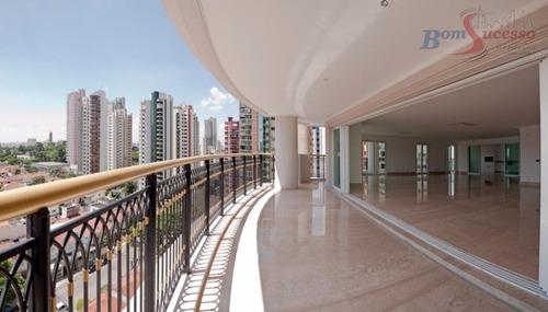 Imagem 1 de 30 de Apartamento Com 5 Dormitórios À Venda, 625 M² Por R$ 7.900.000,00 - Jardim Anália Franco - São Paulo/sp - Ap0058