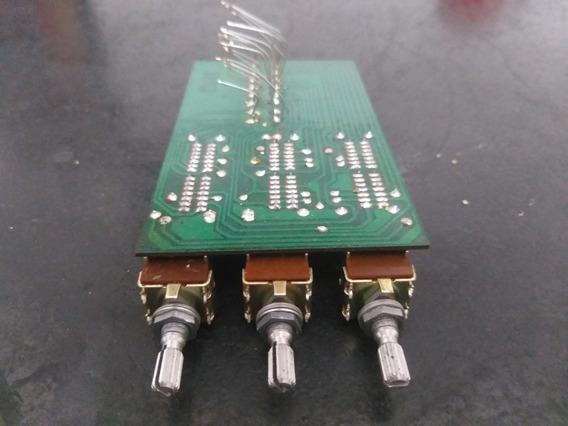 Peças Equalizador Cygnus Ge 1800 Potenciometros C/placa