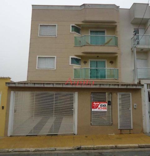 Apartamento À Venda, 87 M² Por R$ 415.000,00 - Vila Francisco Matarazzo - Santo André/sp - Ap0386