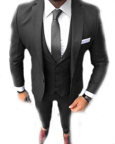 Terno Look Completo Slim Fit Lançamento 2019 + Camisa Slim