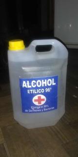 Alcohol Etílico Bidón De 5 Litros Al 96% Envío S/c En El Dia