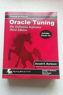 Libro Oracle Tuning The Definitive Reference Third Edition